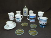 Lot of Assorted Ocean Liner Related Mugs