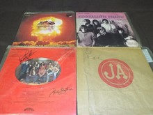 (4) Jefferson Airplane/Starship Signed Albums