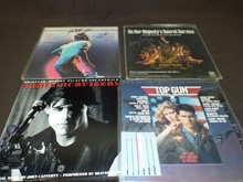 (4) Signed Movie Sountrack Record Albums