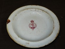 Cunard Steamship Stone China Daveport Bowl
