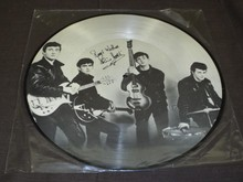 Beatles Record Album Signed by Pete Best