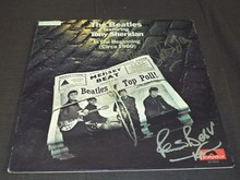 Beatles Album Signed, Pete Best & Tony Sheridan
