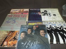 (7) Soul and R&B Autographed Record Albums