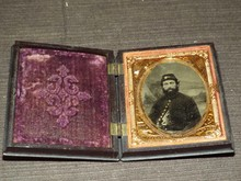 Civil War 1/9th plate tintype.