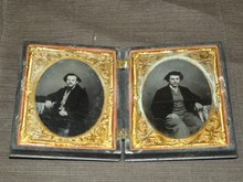 Pair of Half Plate Ambrotypes.