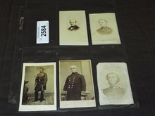Civil War Image Lot of Five.