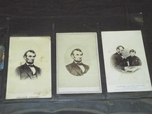 Abraham Lincoln CDV Lot.
