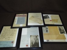 Lot of Scarce Aviation Autographs.