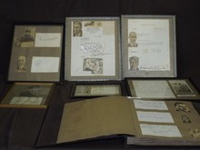 Early 20th century Aviation Autograph Collection.