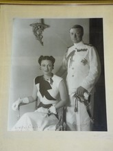 Duke and Duchess of Windsor Photo Signed.