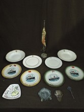 Ocean Liner Collectables Lot