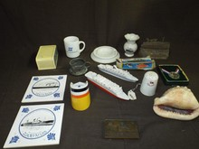 Ocean Liner Collectables Lot.