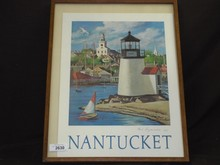 Paul Longenecker, Signed Nantucket Lithograph