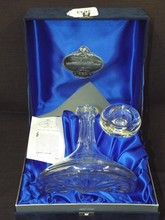 Ltd Ed, Queen Elizabeth 2 Crystal Decanter