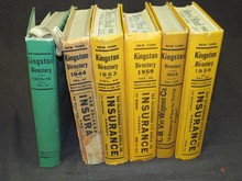 Kingston New York Phone Directory Lot.