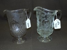 (2) Admiral Dewey Souvenir Water Pitchers