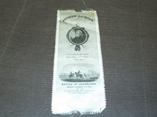 1845 Andrew Jackson Silk Memorial Ribbon.
