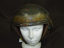 Wonderful World War Two Tank Helmet.