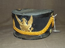 Post Civil War Artillery Hat.