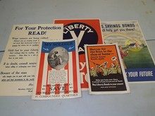 Lot of Five World War Posters.