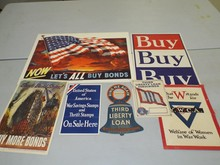 Lot of Six World War Posters.