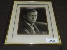 Thomas H. Ince Signed Photo