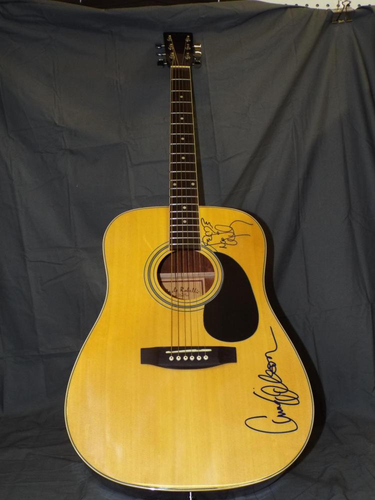 Heart - Ann and Nancy Wilson Autographed Guitar