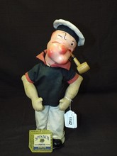 Scarce Effanbee Popeye Doll with Original Tag.