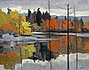 Donald Smith Reflections, South Muskoka River