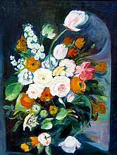 Canadian School, Floral Bouquet