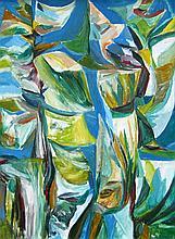 Ruth Battig, Floral Abstract