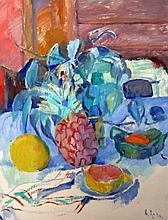 Barbara Rode (Zouzouline), Still Life with Fruit