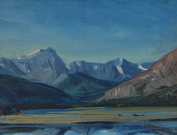 Peter Ewart Mountain Landscape