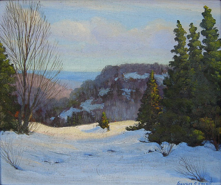 Frank Cavell Winter Hill