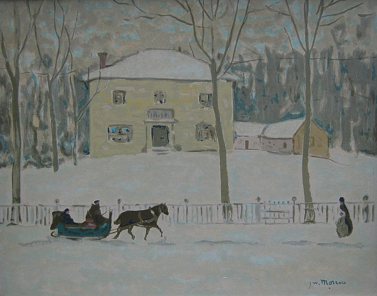 J. W. Morrice Old Holton House, Montreal