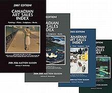 Westbridge Publications 25 Years of Canadian Art Sales Index: 1988-2013 editions