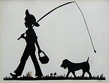 Carr Boy and Dog