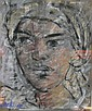 LOCK, FREIDA - SOUTH AFRICAN (1902 - 1962) Pastel, Freida Lock, Click for value