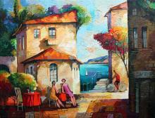 Alexander Grinshpun Original Oil on Canvas Hand Signed CJ1575