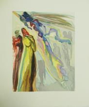 Salvador Dali Woodcut and Block W301