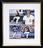 Rollie Fingers Photo w/ Signature W101