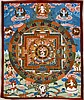 Small Unframed Tibetan Thangka