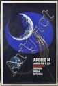 Apollo 14 Lithographed Poster