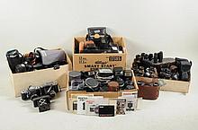Group Vintage Binoculars, Lenses & Cameras