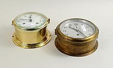 Two Ships Clocks, Japanese & Schatz Royal Mariner