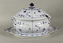 Royal Copenhagen Porcelain Tureen & Underplate