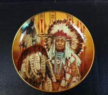 Chief of the Piegon Blackfoot (Plate) by Paul Calle