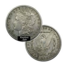 Morgan Silver Dollar Coin - Random date - Average Circulated