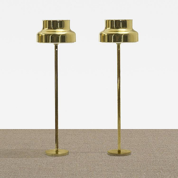 Anders Pehrson Bumling floor lamps, pair