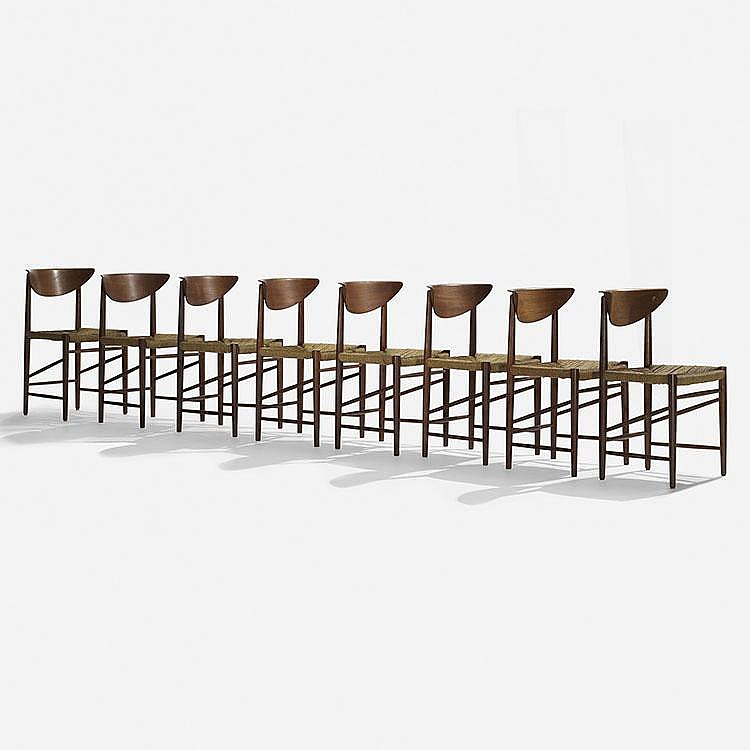 Hvidt and Mølgaard-Nielsen dining chairs